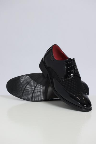 GIAN MARCO VENTURI Scarpe Eleganti Con Stringhe  scarpe   AL0035VERNICENERO