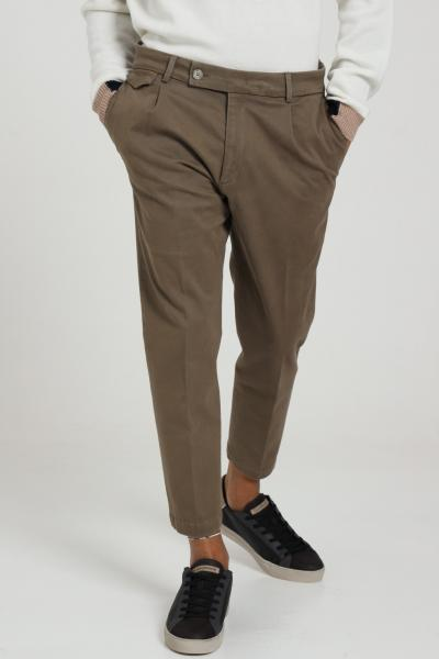 GOLDEN CRAFT Pantalone Classico Taglio Corto  Pantaloni   GC1PFW202215490M073