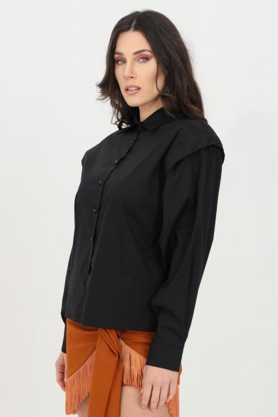 HAVEONE Camicia over con spalline incorporate  Camicie | CPA-D018NERO