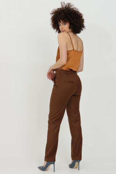 HAVEONE Pantalone taglio classico con risvolto sul fondo  Pantaloni | PLP-D048BRUCIATO