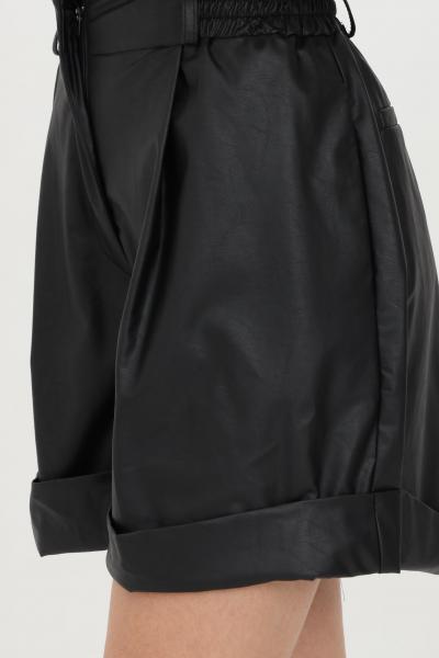 HAVEONE Shorts donna nero haveone casual a vita alta  Shorts | PPA-D044NERO