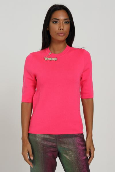 ISABELLE BLANCHE Maglioncino con spilla  T-shirt | IS20FW-M123345