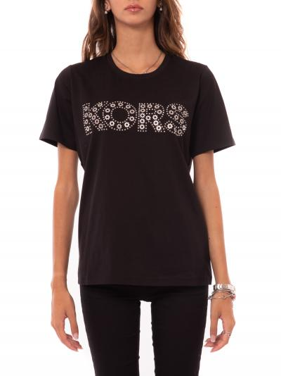 MICHAEL KORS kors studded tee  T-shirt | MF05MSU97J001BLACK