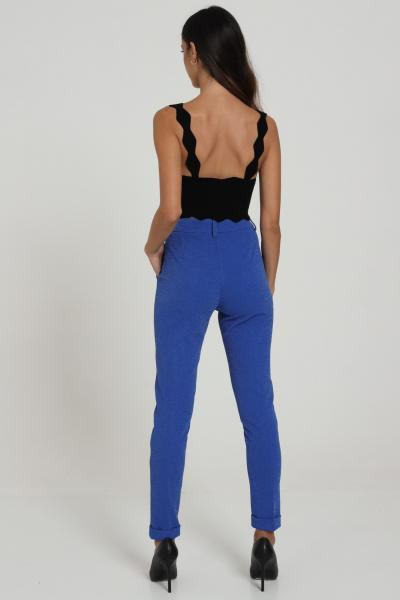 REVISE Pantalone Con Glitter Revise  Pantaloni | RI20203BLUMARA