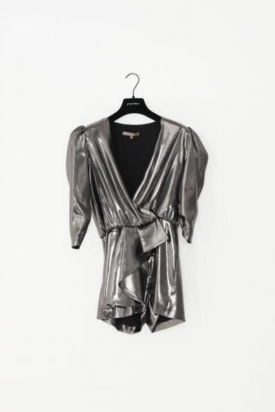 SIMONA CORSELLINI Tuta donna silver simona corsellini casual effetto satinato  Tute | A19CMTU009-010000