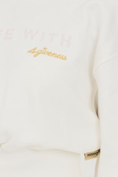 4GIVENESS Felpa donna bianco 4giveness modello girocollo  Felpe | FGFW1142001