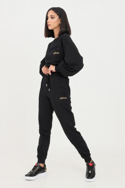 4GIVENESS Pantaloni donna nero 4giveness modello casual con elastico in vita  Pantaloni | FGPW1147110