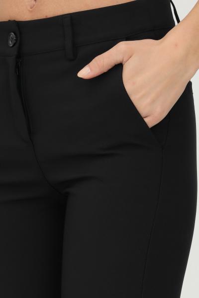 ADDICTED Pantaloni donna nero addicted elegante  Pantaloni | BY38-21NERO