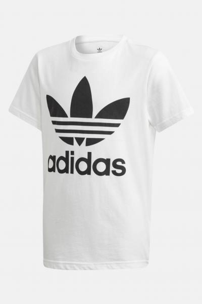 ADIDAS T-shirt bambino unisex bianco adidas con maxi logo frontale  T-shirt | DV2904.