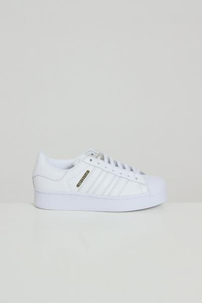 Sneakers superstar bold donna bianco   Sneakers | FW4520FTWWHT/GOLDMT
