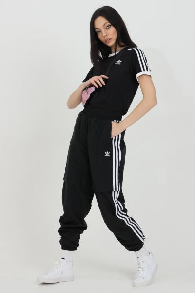 ADIDAS Pantaloni track pants adicolor classic japona donna nero adidas sport  Pantaloni   GN2926.