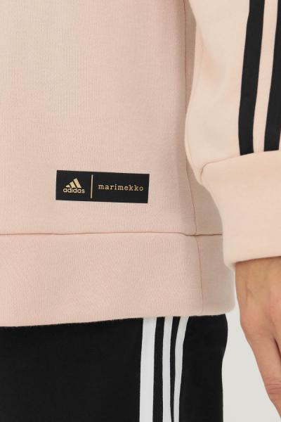 ADIDAS Felpa con cappuccio adidas sportswear marimekko fleece donna  Felpe   GT4593.