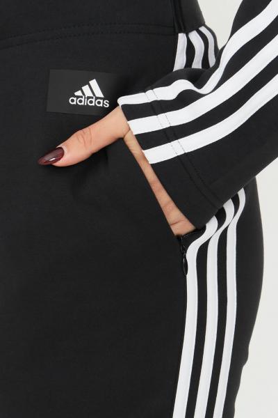 ADIDAS Pantaloni adidas sportswear future icons 3-stripes skinny donna nero  Pantaloni   GU9689.