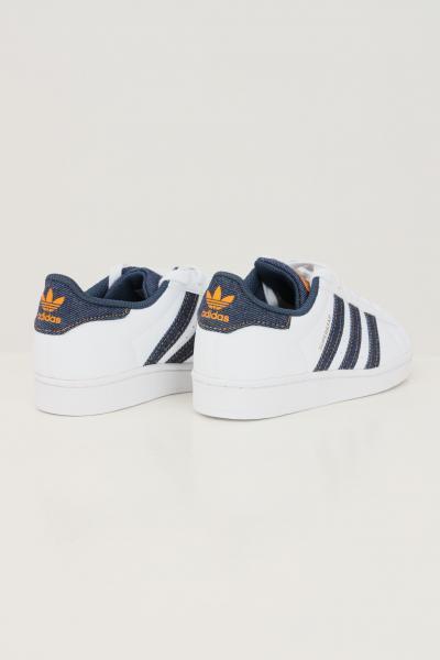 ADIDAS Sneakers adidas superstar bambino unisex bianco  Sneakers | H04026.