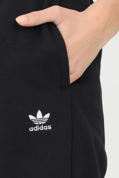 ADIDAS Pantaloni adicolor essentials fleece joggers uomo nero adidas  Pantaloni   H06629.