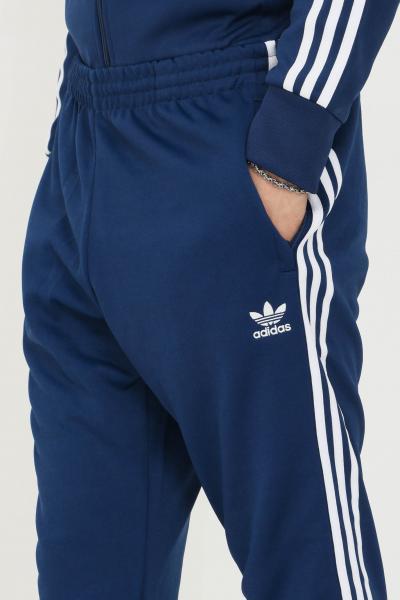 ADIDAS Pantaloni track pants adicolor classics primeblue sst uomo blu adidas  Pantaloni | H06714.