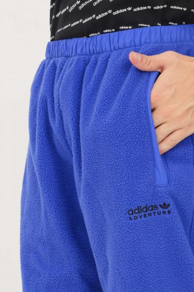ADIDAS Pantaloni polar adventure uomo blu adidas  Pantaloni   H09081.