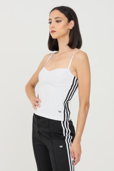 ADIDAS Top donna bianco adidas modello corsetto  Top   H20241.