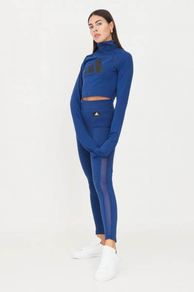 ADIDAS Leggings tight adidas sportswear mesh blu  Leggings   H24181.