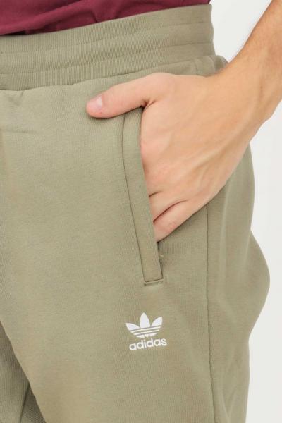 ADIDAS Pantaloni essentials trefoil uomo verde adidas sport  Pantaloni   H34656.
