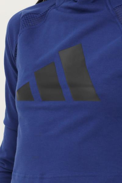 ADIDAS Maglia adidas sportswear long sleeve donna blu  T-shirt   H39726.