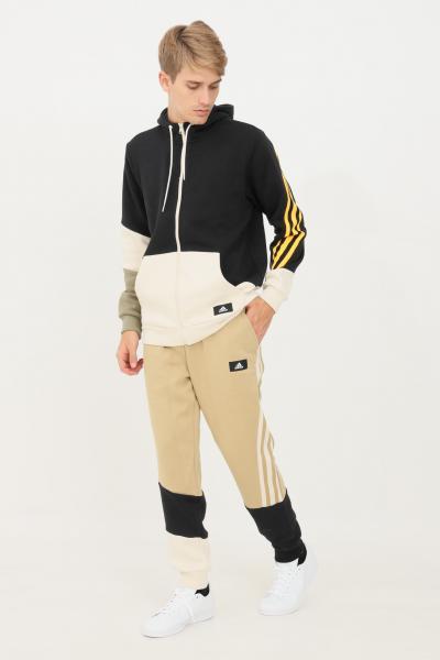 ADIDAS Pantaloni uomo beige adidas sport modello slim  Pantaloni   H39762.