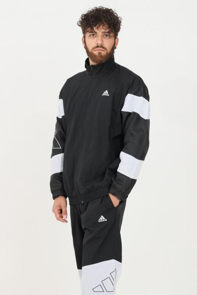 ADIDAS Tuta mts 3bars logo uomo nero adidas sport  Tute   H42019.