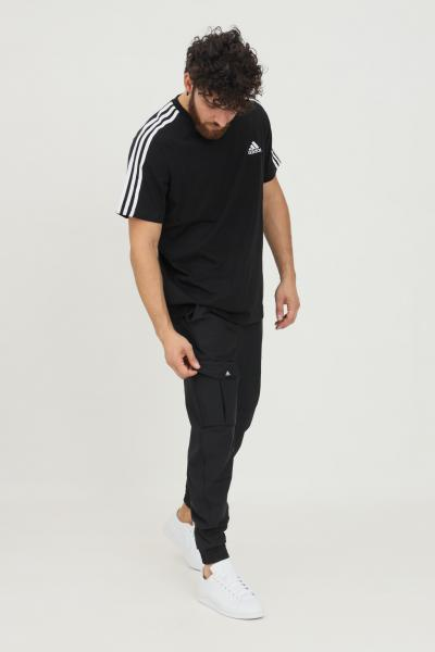 ADIDAS Pantaloni adidas sportswear cargo twill uomo nero  Pantaloni   H42026.