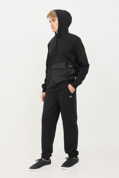 ADIDAS Pantaloni joggers essentials uomo nero adidas  Pantaloni   H47786.