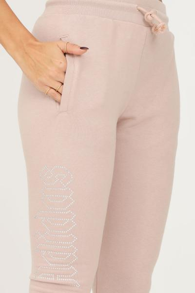 ADIDAS Track pants adidas 2000 luxe open hem donna beige modello casual  Pantaloni | HF6770.