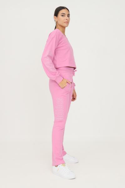 ADIDAS Track pants adidas 2000 luxe open hem donna rosa modello casual  Pantaloni | HF6771.