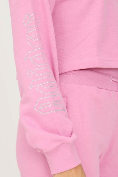 ADIDAS Felpa adidas originals 2000 luxe slouchy donna rosa con scollo a barca  Felpe | HF6775.