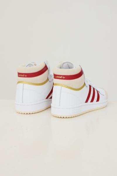 ADIDAS Sneakers top ten unisex bianco adidas con bande a contrasto  Sneakers | S24133.
