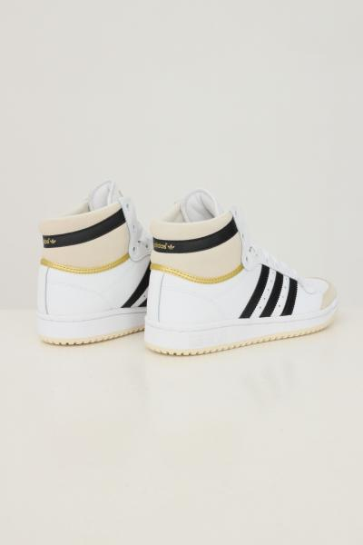 ADIDAS Sneakers top ten unisex nero adidas con bande a contrasto  Sneakers | S24134.