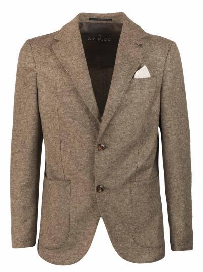 AT.P.CO. Pantalone slim fit in cotone, tasca tagliata con taschino per monete,  Giacche   ALAN60ITF171260