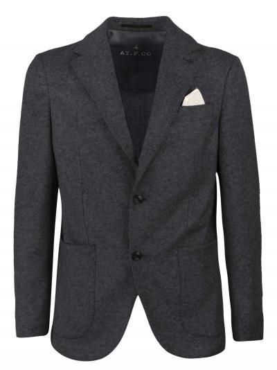 AT.P.CO. Pantalone slim fit in cotone, tasca tagliata con taschino per monete,  Giacche   ALAN60ITF171799
