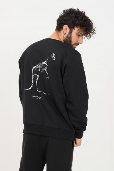 AUSTRALIAN Felpa uomo nero australian girocollo  Felpe | HCUFE0035003