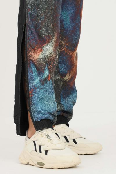 AUSTRALIAN Pantaloni uomo nero australian modello casual con zip lungo le gambe  Pantaloni | HCUPA0018003