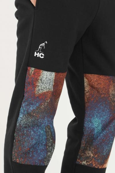 AUSTRALIAN Pantaloni uomo nero australian modello casual con stampe  Pantaloni | HCUPA0019003