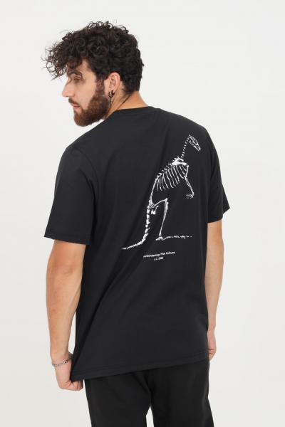 AUSTRALIAN T-shirt uomo nero australian a manica corta con maxi stampa sul retro  T-shirt | HCUTS0036003