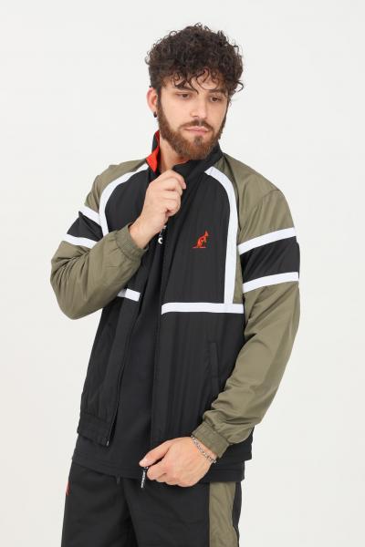 AUSTRALIAN Felpa uomo verde australian con zip frontale  Felpe | SWUGC0010003