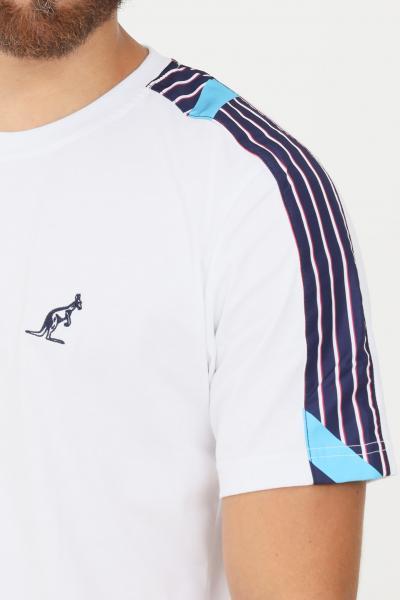 AUSTRALIAN T-shirt uomo bianco australian a manica corta  T-shirt | SWUTS0034002