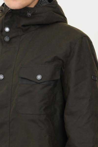 BARBOUR INTERNATIONAL Bomber uomo verde barbour con zip e cappuccio  Giubbotti | 212-MWX1372MWXOL51