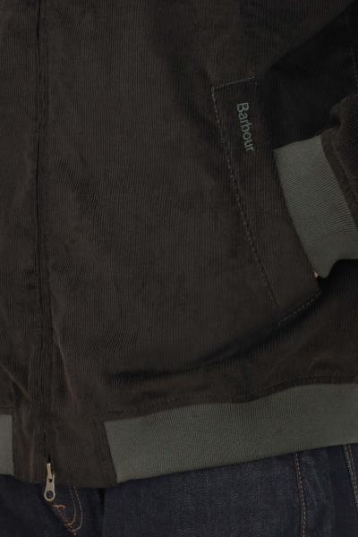 BARBOUR Giubbotto uomo nero barbour con colletto alla francese  Giubbotti | 212-MCA0746MCAOL72
