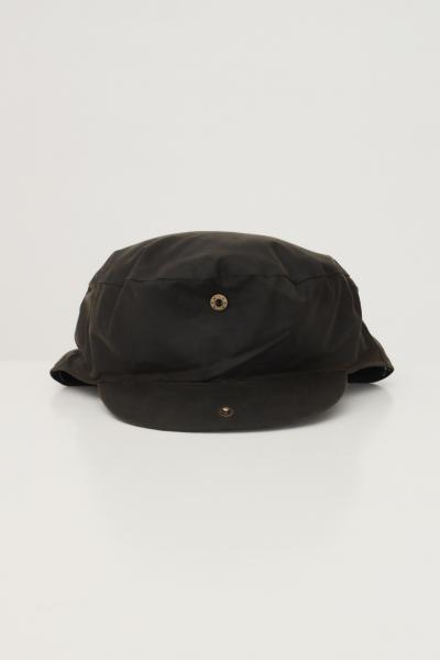 BARBOUR Cappello uomo barbour verde con trama quadri interna  Cappelli | 212-MHA0003MHAOL71