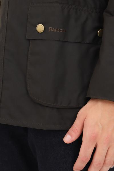 BARBOUR Bomber uomo verde barbour chiusura con zip e bottoni  Giacche | 212-MWX0339MWXOL71