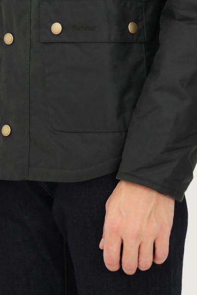 BARBOUR Bomber uomo verde barbour chiusura zip e bottoni a pressione  Giubbotti | 212-MWX1106MWXSG51