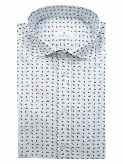 BASTONCINO Camicia fantasia vestibilita regular  Camicie | SARTB1970