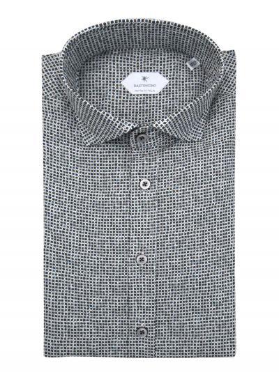 BASTONCINO Camicia fantasia vestibilita regular  Camicie | SARTB2000
