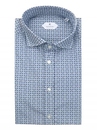 BASTONCINO Camicia fantasia vestibilita leggermente slim  Camicie | SIMOB197101